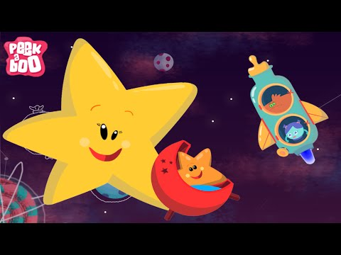 Twinkle Twinkle Little Star Nursery Rhymes For Kids Popular English Rhymes Peekaboo Youtube