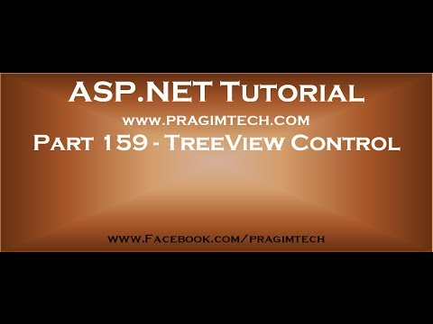 Part 159   TreeView Control In Asp Net