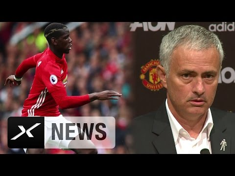 "Jose Mourinho: ""Paul Pogba muss konstant gut spielen"" | Manchester United - Leicester City"