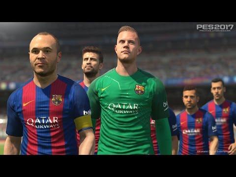 PES2017 | Trailer oficial FC BARCELONA | Videorreacción | Secarden.