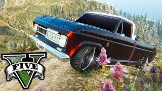 GTA V MODs: Joguei uma Chevrolet C10 do monte chiliad