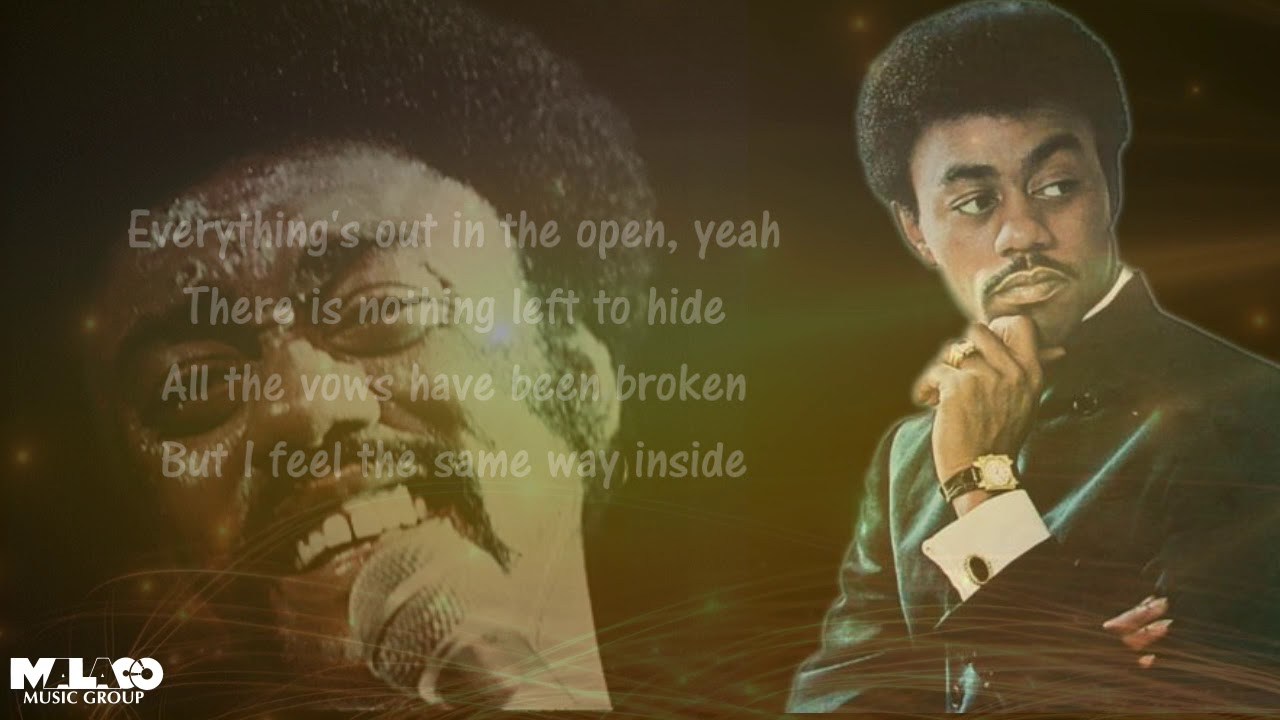 Johnnie Taylor Everythings Out In The Open Lyric Video
