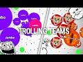 Agar.io - TROLLING TEAMS IN AGARIO!