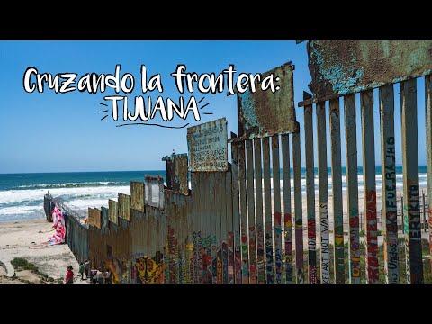 Cruzando la Frontera de Tijuana | Nomadarte rumbo Alaska