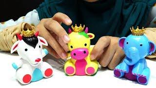 Surprise Egg Buboo New Animal Series 💖 Mainan Anak bernyanyi dan bercerita karakter Binatang