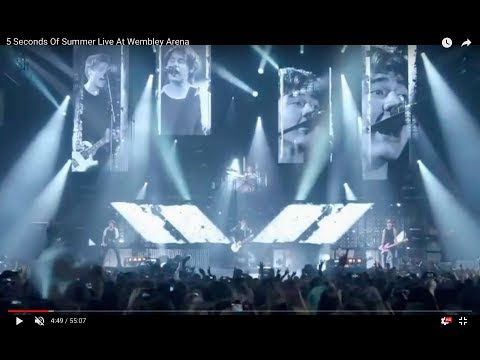 5 Seconds Of Summer Live At Wembley Arena