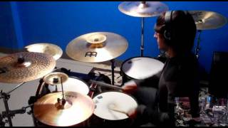 The Fray - You Found Me Drum Cover (Low Song Volume)