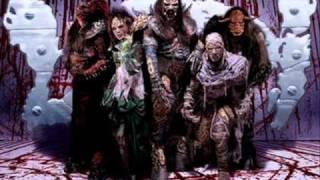 Lordi - (ZombieRawkMachine) Lyrics.