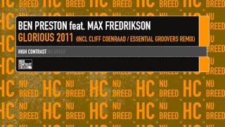 Ben Preston feat Max Fredrikson - Glorious 2011(Original)