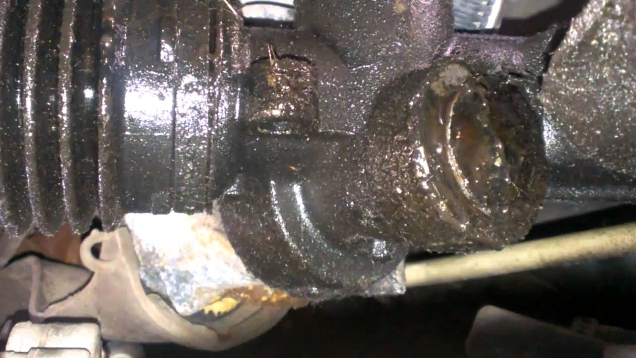 power steering leak pontiac montana chevy venture - YouTube