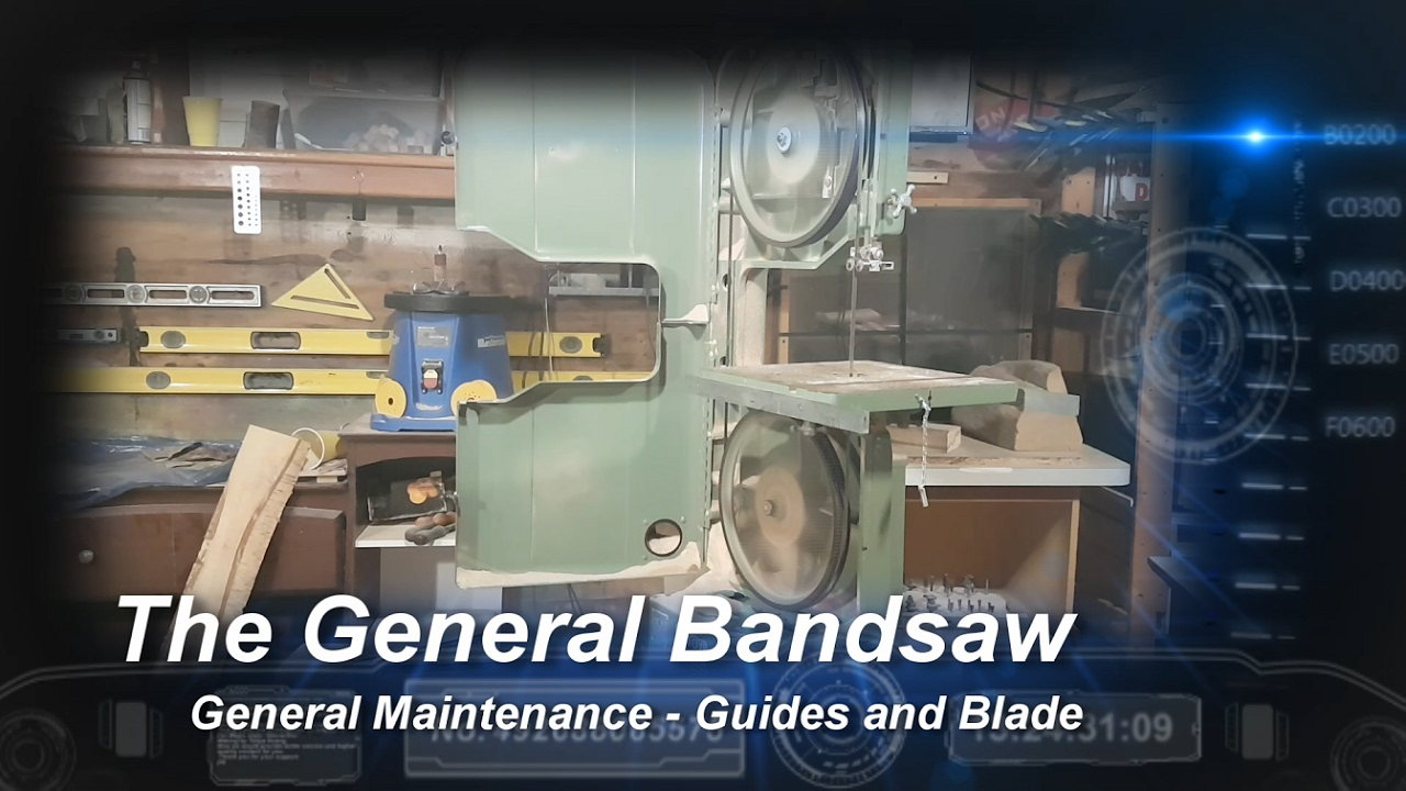 General international bandsaw maintenance blade change and guide general international bandsaw maintenance blade change and guide setting keyboard keysfo Images