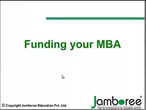 How To Finance Your #MBA abroad