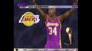 NBA Live 2000 Championship Celebration (PC)