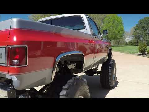 West TN 1984 Chevrolet Silverado Monster Show Truck Frame off Restoration Info www sunsetmotors com