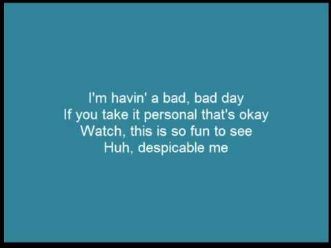 Pharrell (Despicable Me) Bad Day