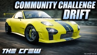 The Crew Wild Run - Mazda RX-7 Drift Spec - Community Challenge