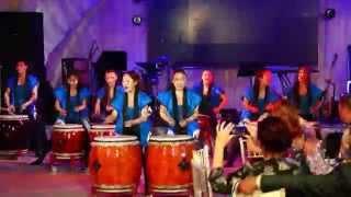 Японские барабанщицы на СВАДЬБЕ в японском стиле