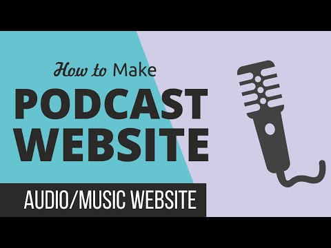 How to Make a Podcast, Audio & Music Downloading Website with WordPress & WPCast Tutorial 2019