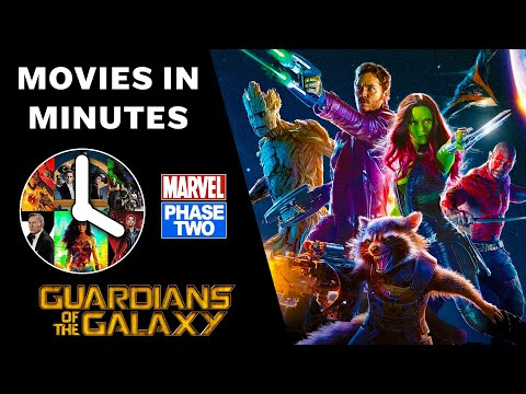 Guardians of the Galaxy in 4 minutes - (Marvel Phase Two Recap)