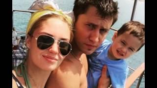 Павел Прилучный и его семья