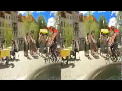 LG 3D Demo - Magic World - 3D Side by Side...