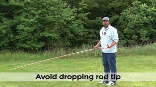 ORVIS Fly Casting Lessons Making An Accurate Roll Cast