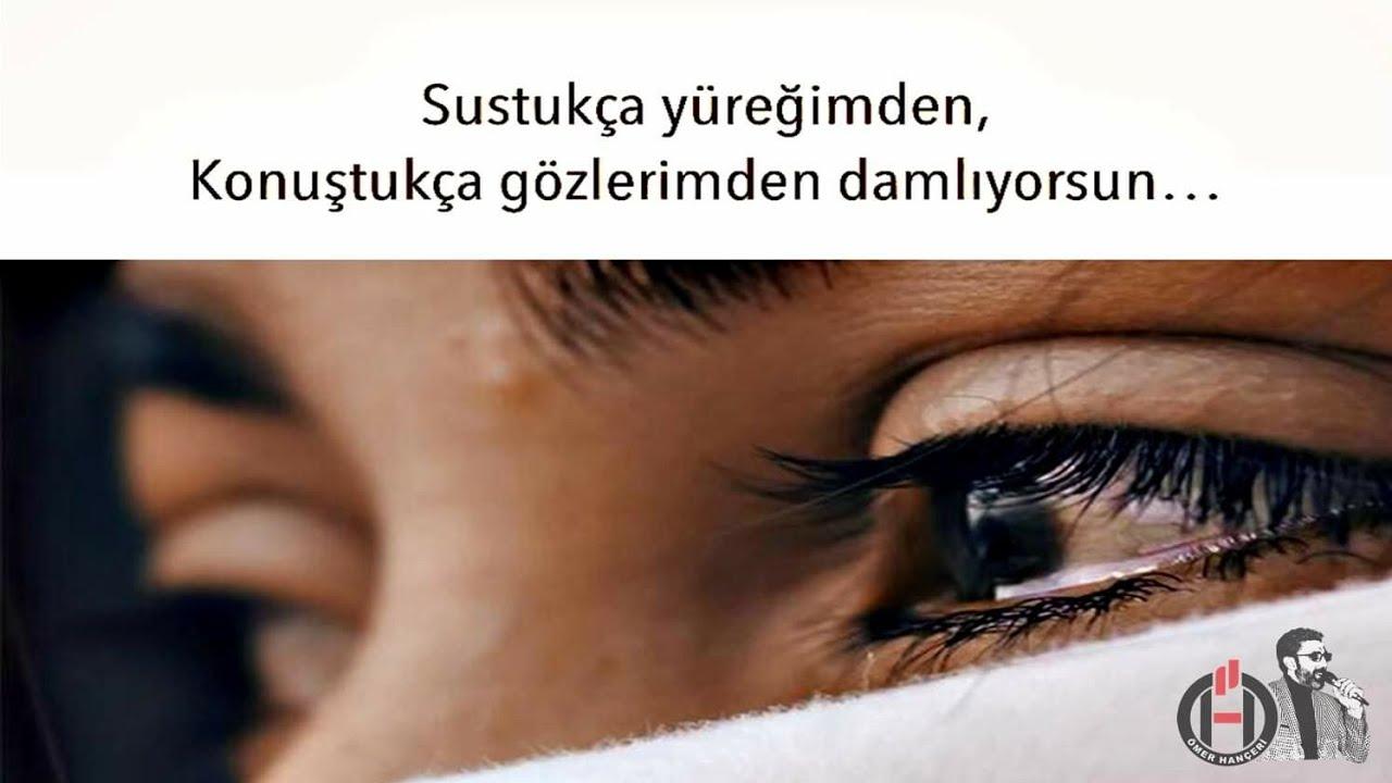 Sustukça yüreğimden, Özledikçe gözlerimden akıyorsun💔 Acı Aşk Sözleri 💔 Etkili Sözler 💔 Güzel Sözler