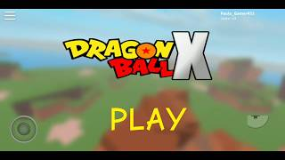 TUTORIAL-how to play Dragon Ball X and how to make Fusion (Roblox)