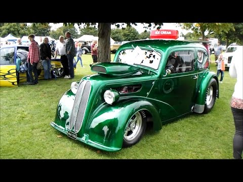 SOME OF THE BEST CUSTOM CARS FROM ACROSS THE UK - RAT,ROD,DRAG,LOW