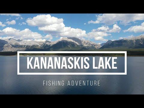 LOWER KANANASKIS LAKE | FISHING ADVENTURE | CATCHING BIG TROUT |