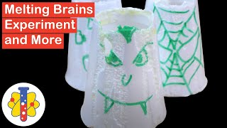 Melting Brains Science Experiment And More | Experiments You Can Do At Home | Lab 360
