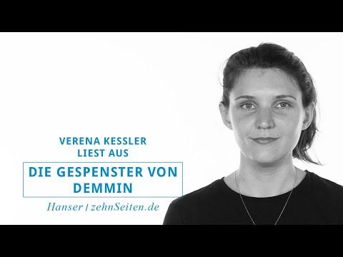 Verena Keßler liest aus Die Gespenster von Demmin
