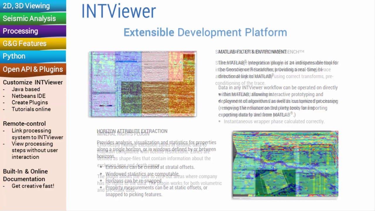 Extensible seismic qc platform intviewer python java youtube extensible seismic qc platform intviewer python java baditri Images