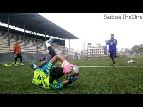 Goalkeeping Training | Nepal National Football Team