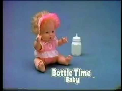 Baby Heather 1987 Mattel Amazing Talking Doll Grows 6 M
