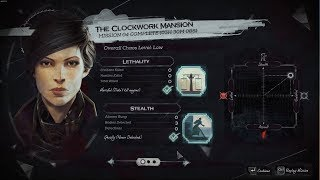 Dishonored 2 Episode 4 No-Kill/Ghost - The Clockwork Mansion