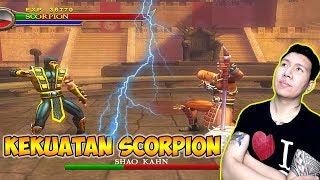 Scorpion Melawan Shao Kahn Mortal Kombat Shaolin Monks