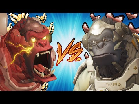 Overwatch - Theirs vs Ours: Winston