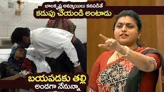 Balakrishna Counter Video To MLA Roja Comments on Assembly | Roja Vs Balakrishna | Filmylooks