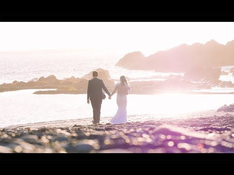 Wedding Video at Tunnels Beaches in Devon - Emily and Rhys