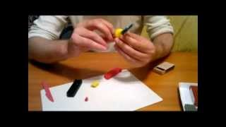 Лепка из пластилина: Урок 4 (Чиполлино)