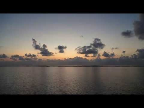 Timelapse in Maldives on 05:45 AM - 06:59 AM Mar. 5, 2015