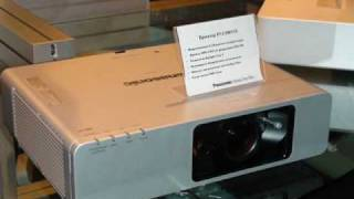 Выставка ISR2008 - Стенд PANASONIC - Проекторы(Новые проекторы Panasonic на выставке ISR 2008. Москва, 31 октября -1 ноября 2008., 2008-11-01T23:13:08.000Z)