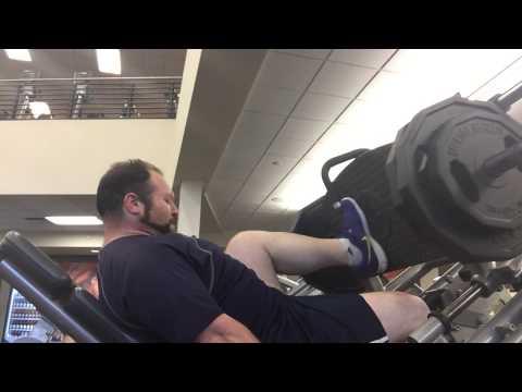 Saltzman Circuit Workout - Single Leg, Leg Press