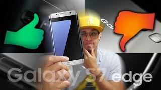 O que eu GOSTEI e NÃO GOSTEI no Samsung Galaxy S7 Edge