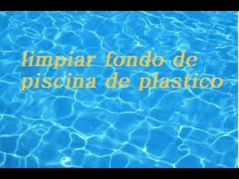 Diy como limpiar el fondo de la piscina de pl stico con - Salfuman para limpiar piscinas ...