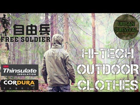 ⚠️[ОБЗОР] Моя Походная Тактическая Одежда | 4 Сезона • FREE SOLDIER Urban Tactical - Outdoor Clothes