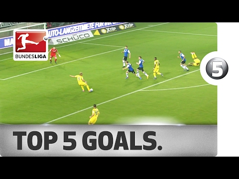 Julian Green's Maiden Strike, Overhead-Kick Special and More - Top 5 Goals on Matchday 19