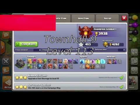 Clash Of Clans Maxed Townhall 9 For Sale || COC Account For Sale