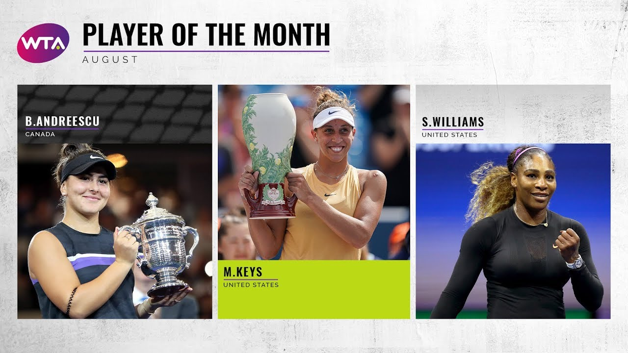 Player of the Month | August 2019 Nominees